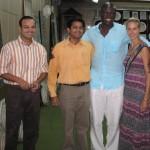 Heidi Klum & SEAL @ Subhash Emporium Agra