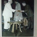 National Award -1971 for best marble handicrafts
